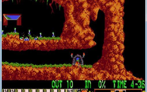 Lemmings-01-Livello-1-Gameplay