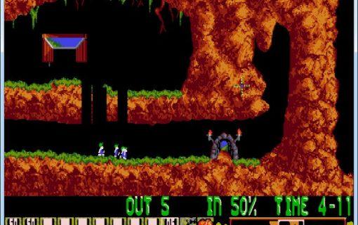 Lemmings-02-Livello-1-Gameplay