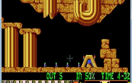 Lemmings-04-Livello-2-Gameplay