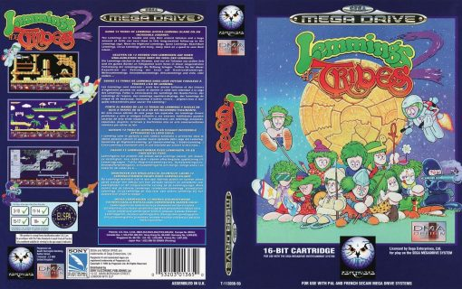 Lemmings 2: The Tribes – Cover
