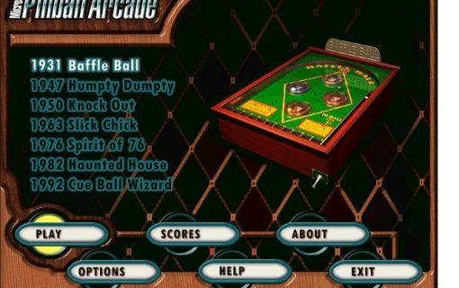 Microsoft Pinball Arcade 1988