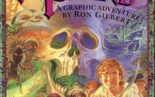 The Secret of Monkey Island – Cover