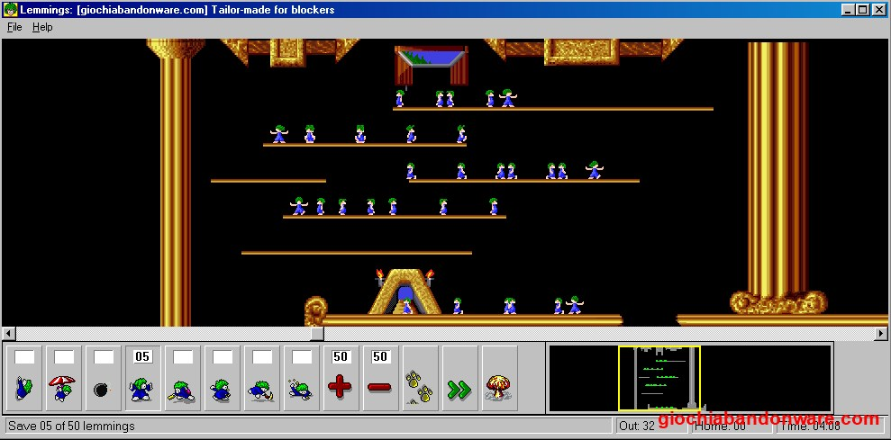 gioco dei lemmings pc