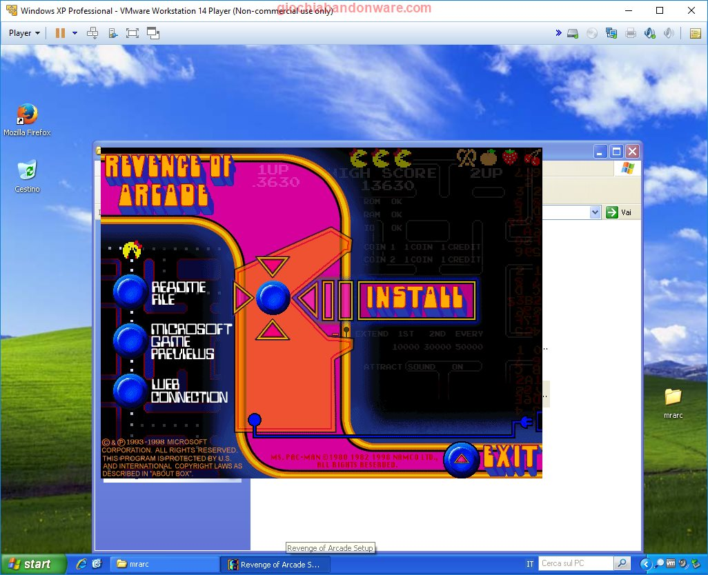 Download Microsoft Revenge Of Arcade Giochi Abandonware