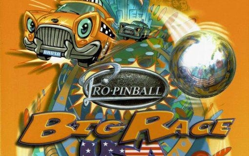 Pro Pinball Big Race USA – Front