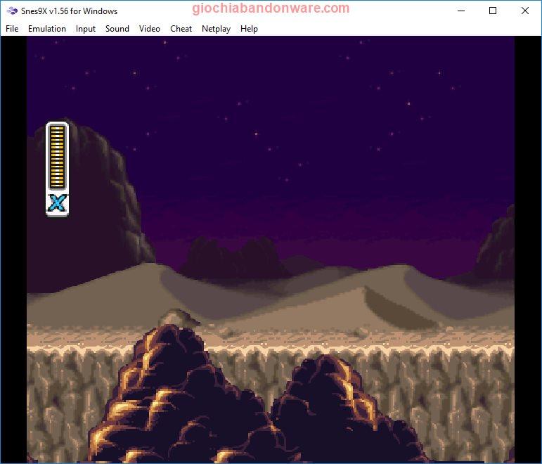 Snes9x, emulatore Windows Super Nintendo Entertainment System