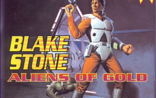 Blake Stone Aliens of Gold – Cover