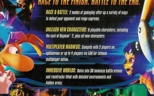 Rayman Arena – Back