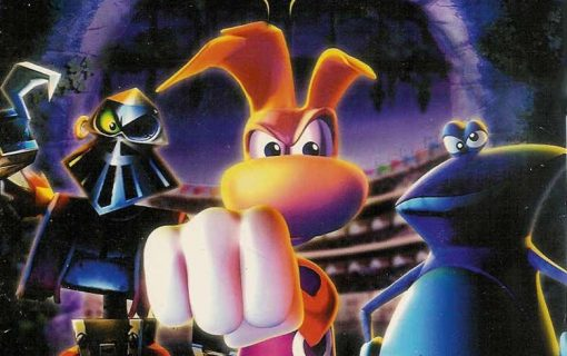 Rayman Arena – Cover