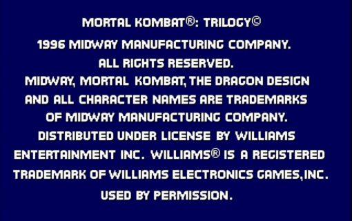 Mortal Kombat Trilogy – 1
