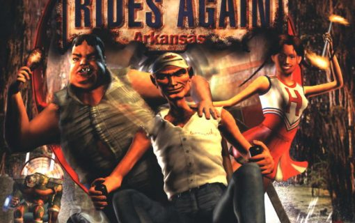 Redneck Rampage Rides Again – Front Cover