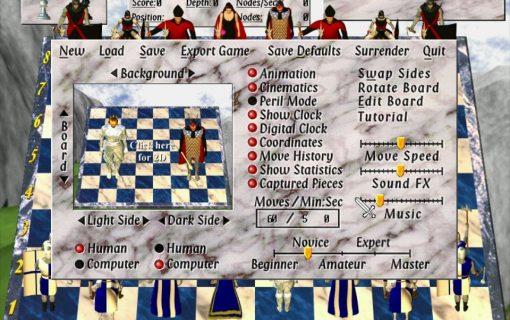 Galleria Chess Wars: A Medieval Fantasy