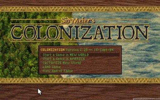 Sid Meier Colonization – 001