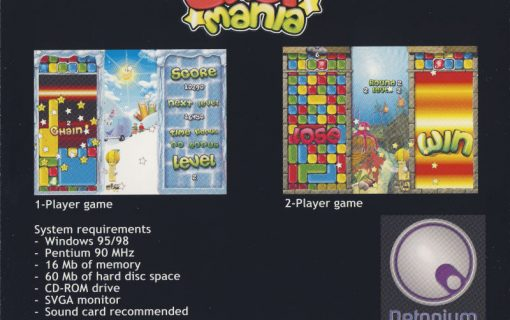 Drop Mania Cover – Back
