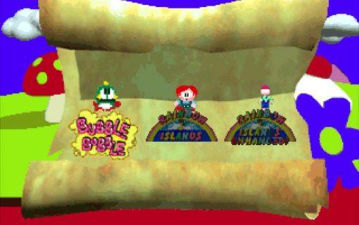 Galleria Bubble Bobble also featuring Rainbow Island