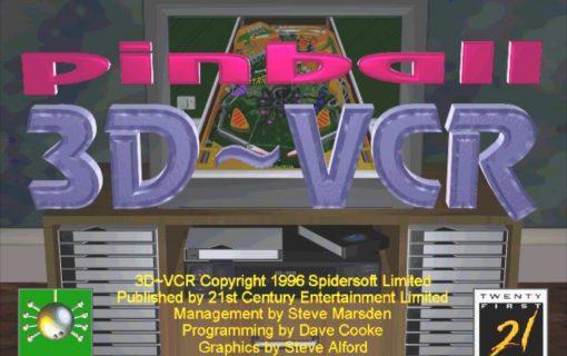 Pinball 3D VCR – Screenshot – 01