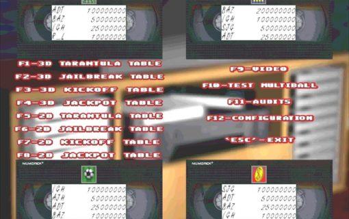 Pinball 3D VCR – Screenshot – 02